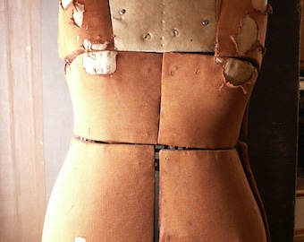 Vintage Adjustable Dressmakers Mannequin Form - Great Jewelry Display