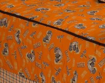 Monster Truck fabric by the yard