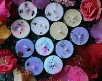 tealight 12 pack / choose your scent