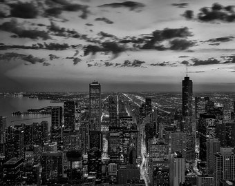 Chicago Skyline Photo Art Print