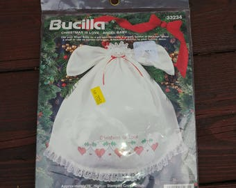 Bucilla Christmas in Love Angle Baby