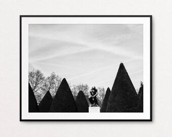 Rodin Museum Photograph, Paris Photography, The Thinker, Paris Print, Paris Decor, Paris Images, Paris Pictures, Home Decor, Paris Wall Art