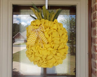 Large Pineapple wreath/summer wreath/ Pineapple