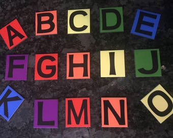 Alphabet Add Ons