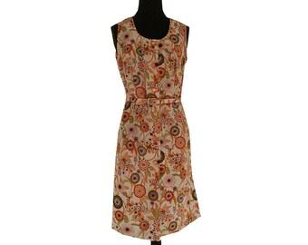 Vintage dress. Vintage, retro ladies clothes, summer dress, 70 's dress, retro dress