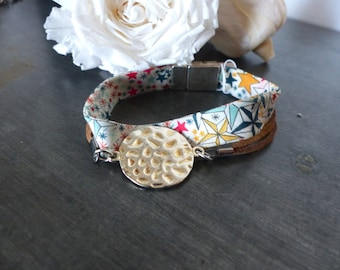 Bracelet Liberty Star and Brown