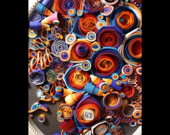 quilling abstraction