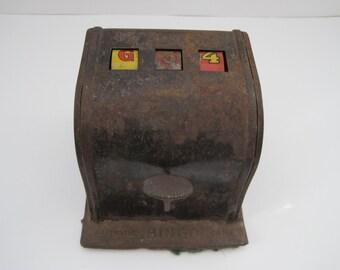 Vintage Automatic Bingo Game Toy