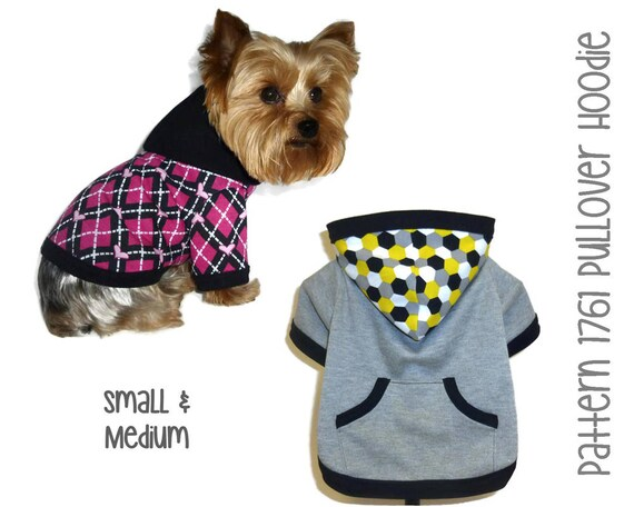 Dog Hoodie Pattern 1761 Dog Clothes Patterns Dog Jackets