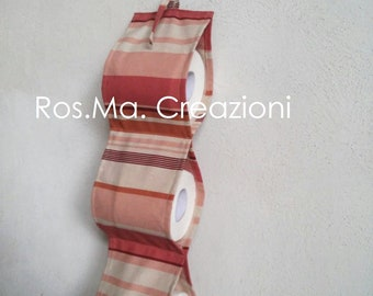 Discount door rolls of toilet paper for handmade fabric bath