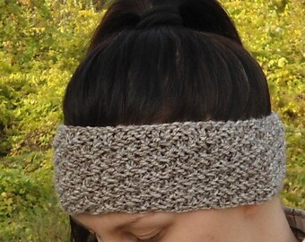 Knit headband Hand knit headband Knit ear warmer