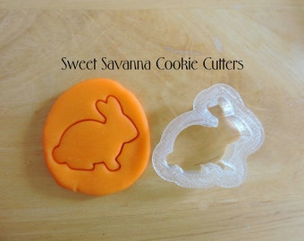 Rabbit Cookie Cutter, Bunny Cookie Cutter No5
