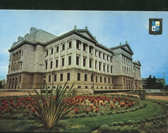 Uruguay Vintage Postcards  / 1 Unused Postcard Uruguay South America/Legislative Place