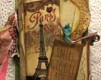 To Paris with Love Junk Journal