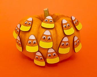 Halloween Pin - Candy Corn Pin - Candy Corn - Halloween Gift - Halloween Pins - Halloween Party Favours - Halloween Enamel Pin