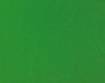 "Kelly Green 100% Cotton Voile Fabric Solid Pattern 60"" Wide By the Yard Apparel, Quilting"