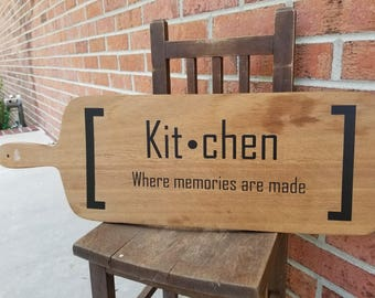 Cutting Board Kitchen Sign