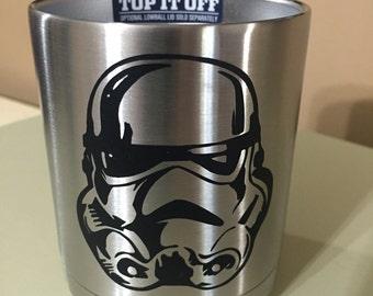 Storm trooper yeti decal