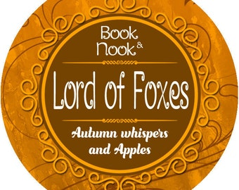 Lord of Foxes | 4.5oz tin | A Court of Wings and Ruin Scented Soy Candle