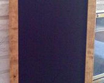 Framed Chalkboard Menu Board 35x18