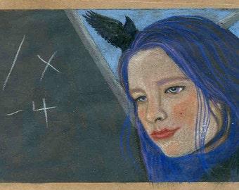 Raven's Equation notecard