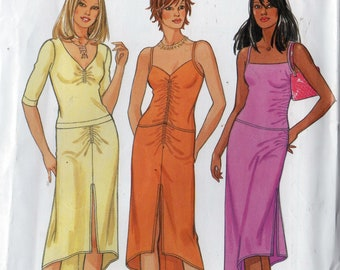 Sewing Pattern New Look 6188 Womens Summer Spaghetti Strap Top and Skirt Sz. 8-10-12-14-16-18 Uncut