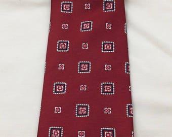 Red Silk Necktie