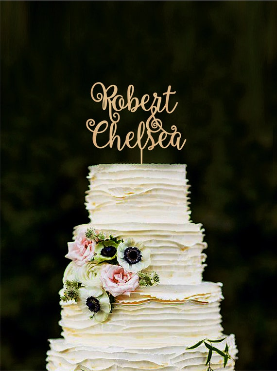 rustic wedding cake toppers canada custom cake topper wedding cake decorations personalized 19582