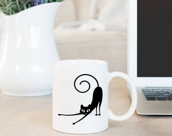 Kitty Cat Coffee Mug - Cute Cat Mug - Coffee Gift - Funny Mug Cat - Cat Lady Mug - Cat Lover Gift Mug - Cat Lady Coffee Mug - Funny Cat Mug