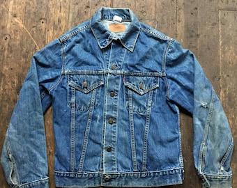 1960s Levis Big E Type III denim trucker jacket