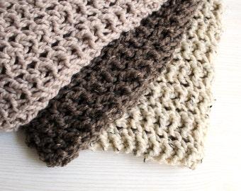 Baby Blanket Newborn Prop Car Seat Knit- Daisy Blanket