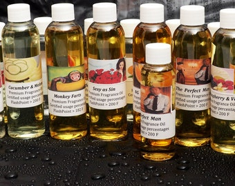 16 Oz PREMIUM FRAGRANCE OIL for Candles /Soap Making Supplies /Tart /Oil Warmer /Beauty and more
