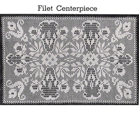 Rectangular Crochet Tablecloth Pattern Cool Simple Rectangular