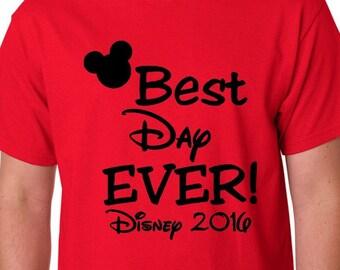 Best Day Ever Disney Shirts, Disney Family Shirts, Custom Personalized Disney Vacation Shirts