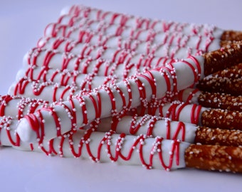 Chocolate Covered Pretzels (12), Chocolate Dipped Pretzels, Chocolate Covered Pretzels, Chocolate Gifts, Chocolate, Baby Shower favors