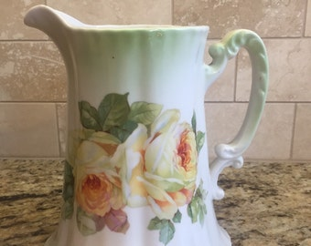 Antique Bavarian Pitcher