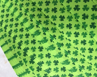 Green Clovers~ Moravian German Froebel Stars (52 strips)