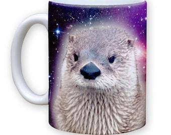 Function - Galaxy Otter 11 oz Coffee Mug