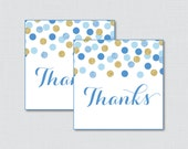 Printable Blue and Gold B...