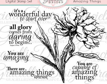 Amazing Things - Digital Stamp Set