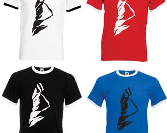 Kasabian Adult Ringer T-Shirt - All Sizes & Colours