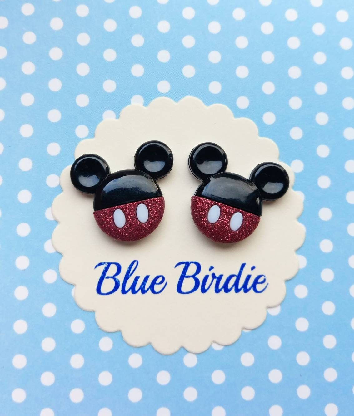 Mickey Mouse Disney Ohrringe Mickey Mouse Schmuck Disney