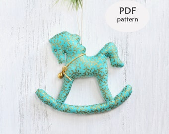 Rooster sewing pattern easter pattern stuffed rooster stuffed rocking horse pattern sewing christmas gifts rocking horse ornament christmas sewing projects christmas sewing pattern ideas negle Gallery