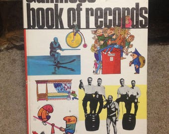 1970 Guinness Book of Records - 17th edition