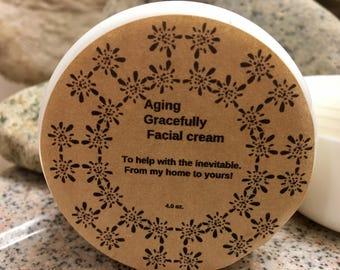 Anti Againg cream, Moisturizing facial cream, facial cream, soft skin, Not Oily, daily use cream, wrinkle cream, Aging gracefully