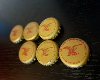 Strong Yuengling Bottle Cap Magnets (set of 6)