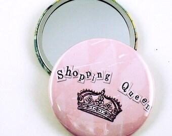 Handmade Pocket Handbag  Mirror  Shopping Queen