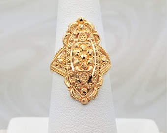 product gold candere jewellers rings bis hallmarked gajanan buy kalyan ring by