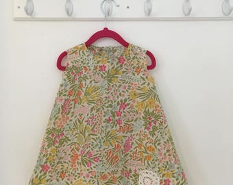 Vintage Style Toddler Dress - Size 2