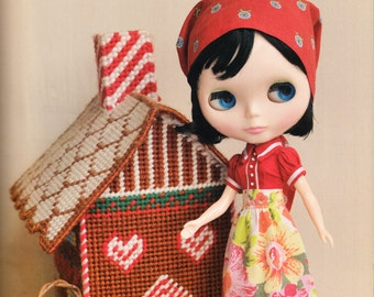 Doll E Pattern Japanese PDF Dress Babushka\Kerchief
